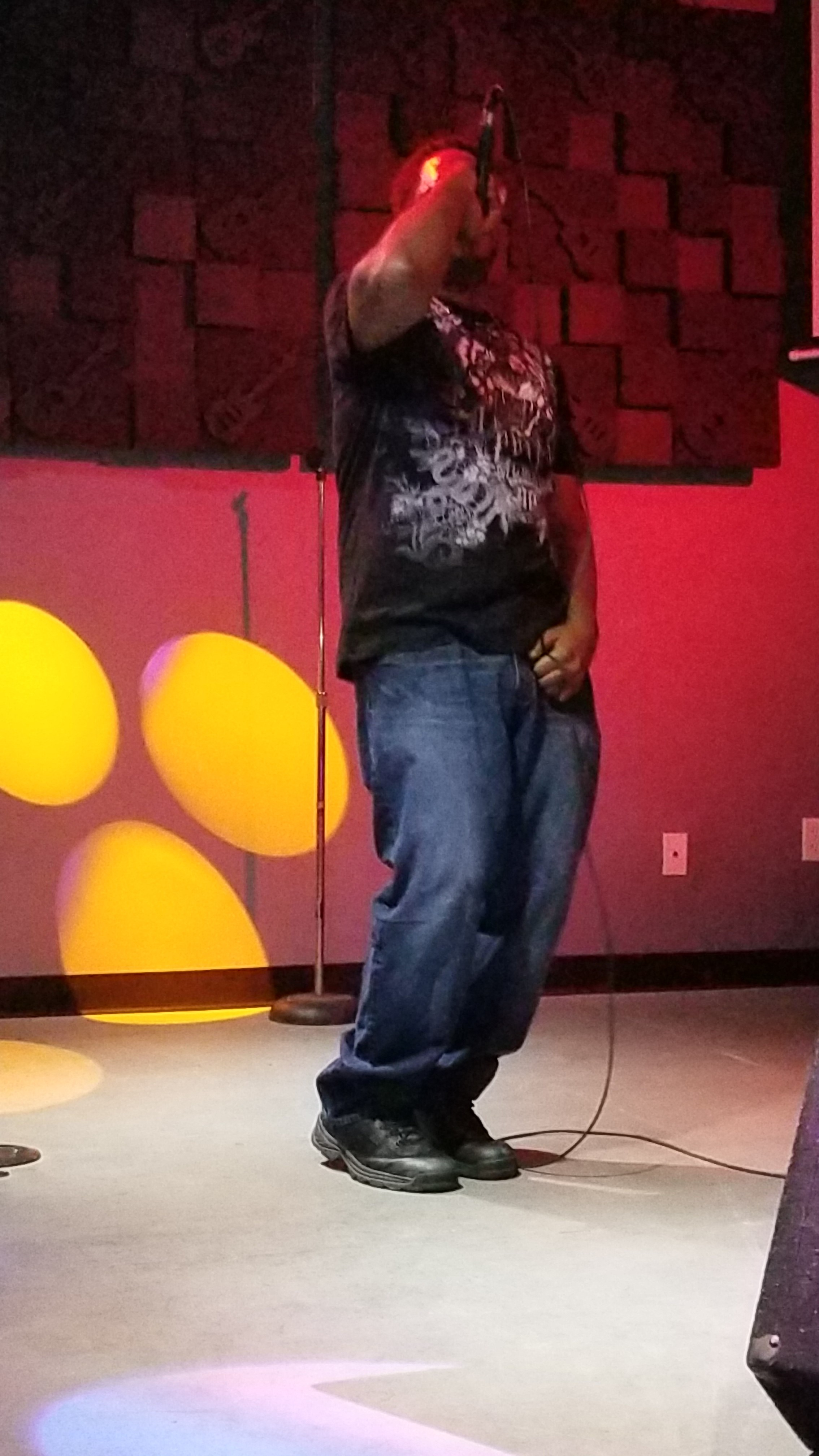 Alfrestyle on the mic